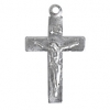 Religious Cross Aluminium 22mm Without Ring Contains Lead